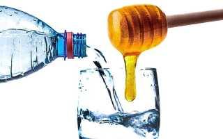 Вода с медом: натощак по утрам, с лимоном, имбирем для похудения
