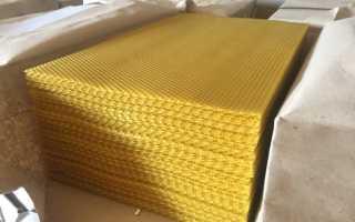 О изготовлении вощины для пчел