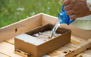 Кормушки для пчел