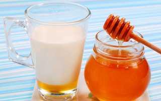 Молоко с медом: от чего помогает, рецепт на ночь