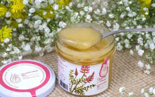 Эспарцетовый мед: лечебные свойства и применение