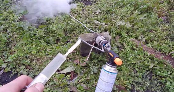 обработка дымом или окуривание