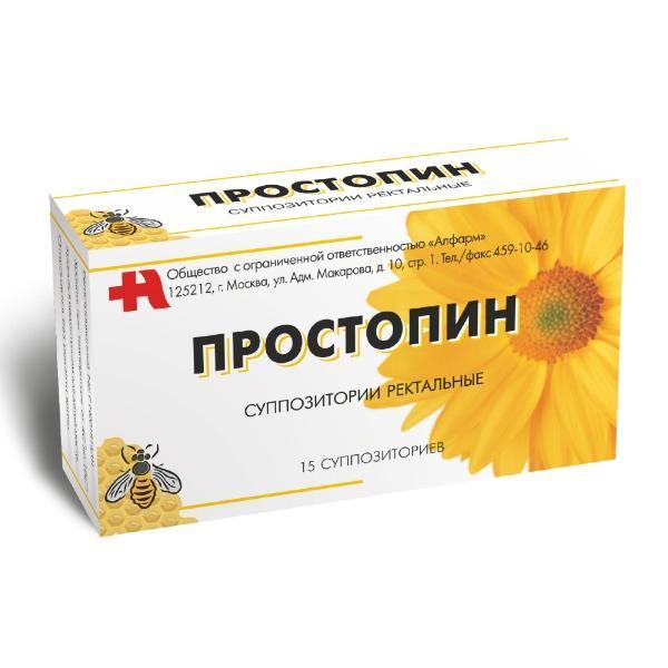 Простапин - препарат эффективный в заживлении, снятии болей и воспалений